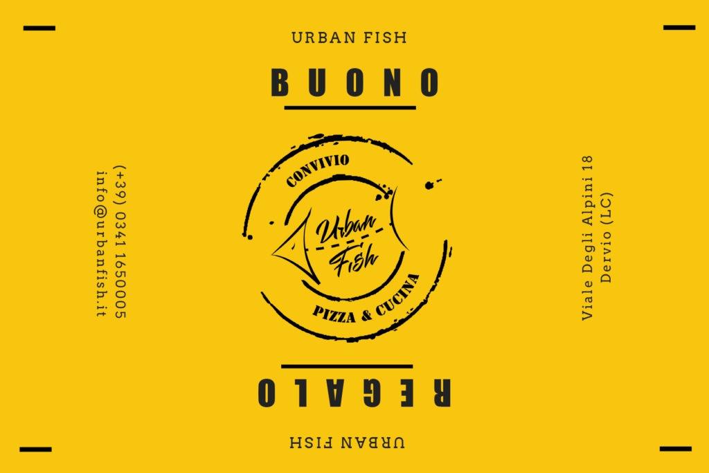 buono regalo gift card cena urban fish