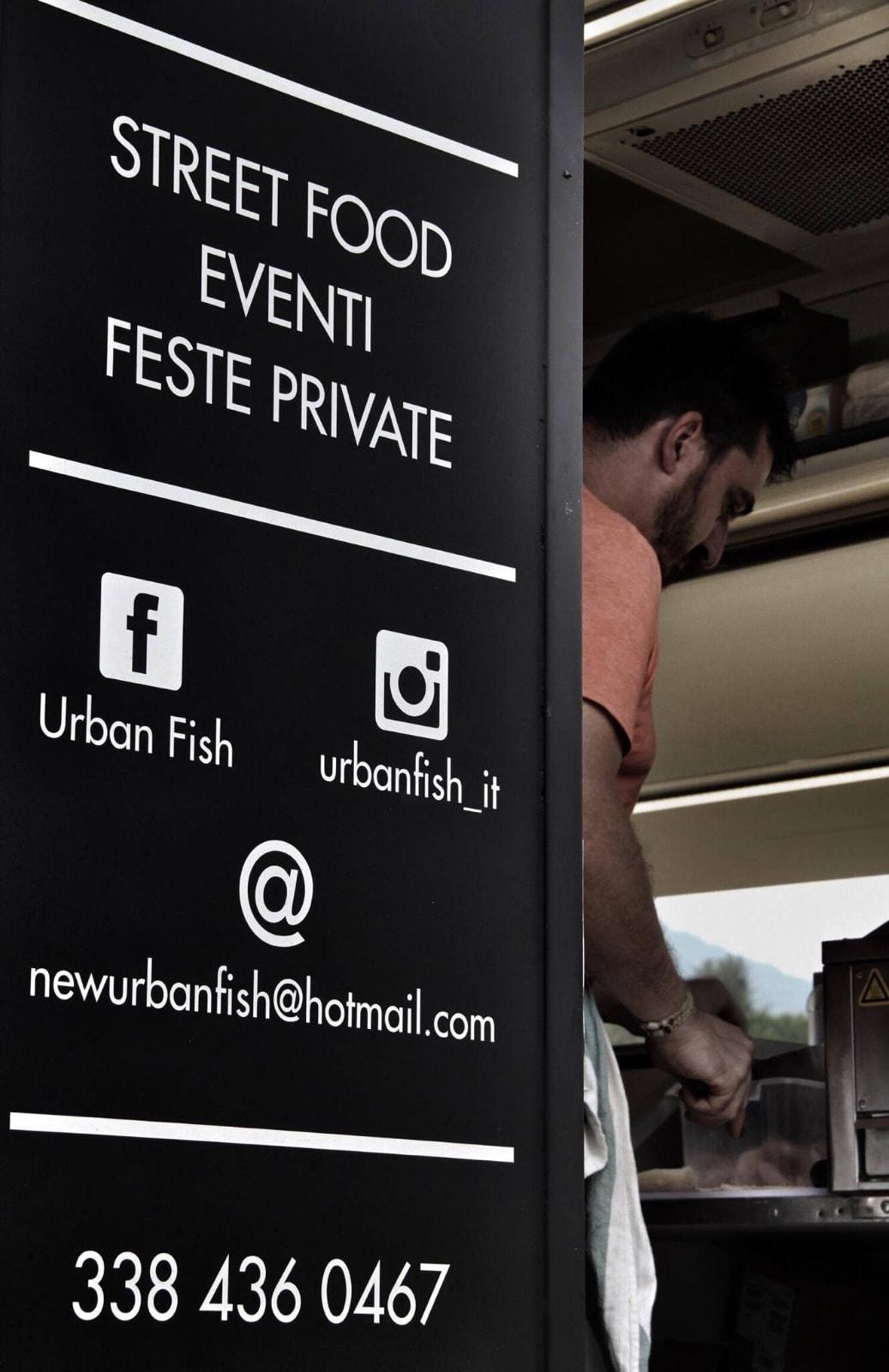 food truck urban fish